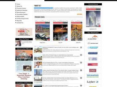 A Magazine development company