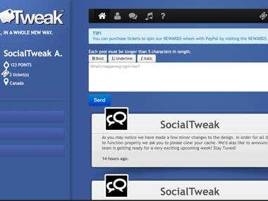 SocialTweak- Getting Social, in a whole new way.