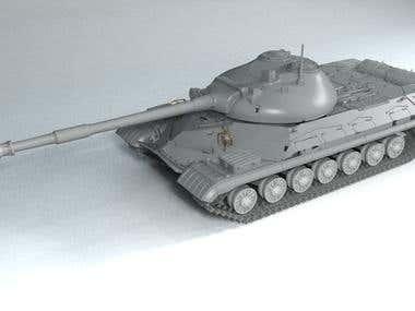 Soviet heavy tank T-10m
