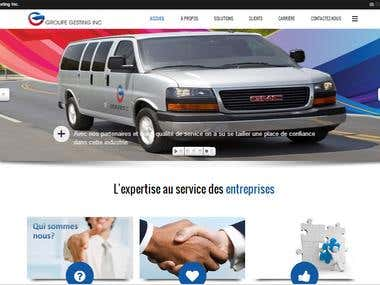 Services Company Website