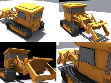 3D Version of an automobile