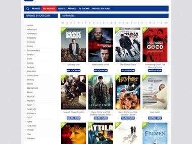 Online Movies (PHP & MySql)