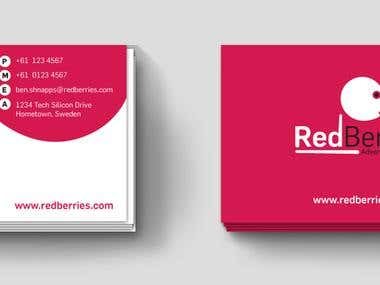 Logo & Business cards design for Red Berries...