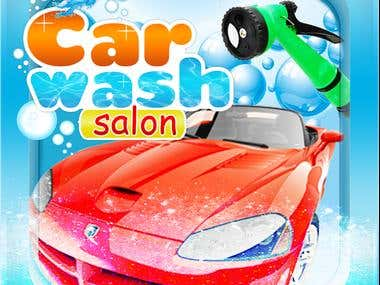 Car Wash game app design.... IOS/Android