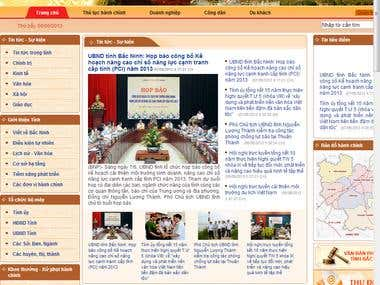 Bacninh Sharepoint Portal