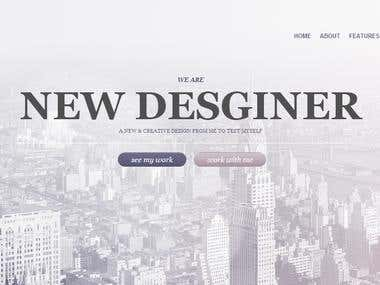 PSD to HTML5 CSS3 Conversion