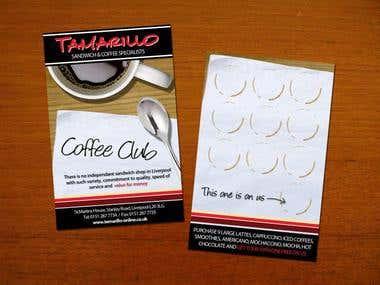 Tamarillo Loyalty Card Design