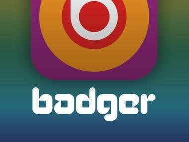 Badger iOS Application UI design