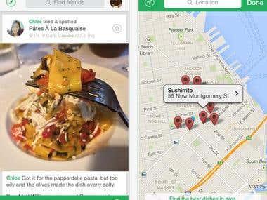 Food Spot App