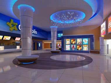 Theater Lobby Interiors
