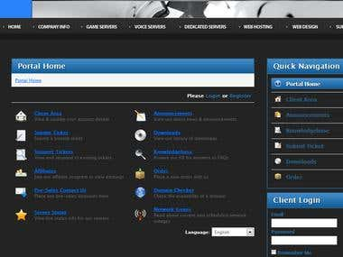 WHMCS integration for www.highendgamer.ca