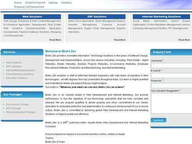 Search Engine Optimization (SEO, SMO, PPC)