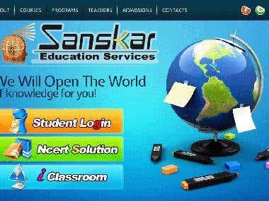 Web portal www.sanskar.net