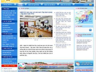 Quangninh Sharepoint Portal