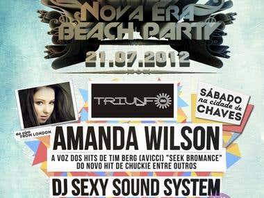 Flyer Remember Nova Era Beach Party