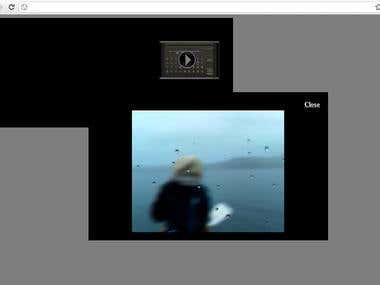 Fixed HTML/JavaScript video player