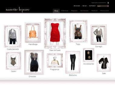 Fashion eCommerce website