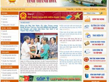 Thanhhoa Sharepoint Portal