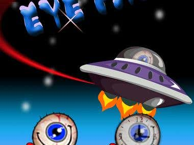Eye Ball (iPhone & iPad Box2D Game)