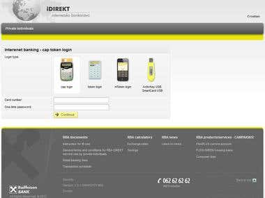 Internet Banking - Raiffeisen BANK Austria d.d. Zagreb