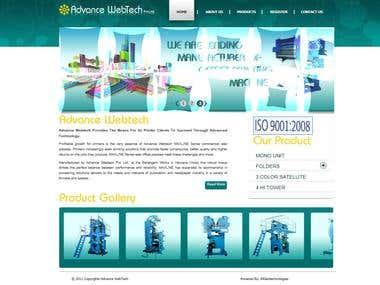 Web site designed