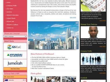 Design for the Neelkamal Human Resources