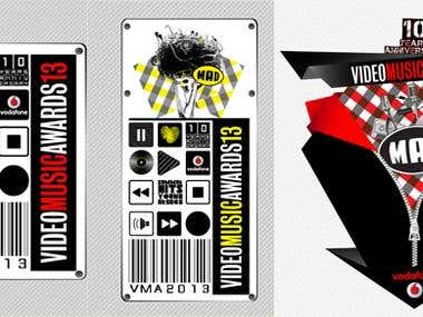 Music Awards Logo Design Competition 2013