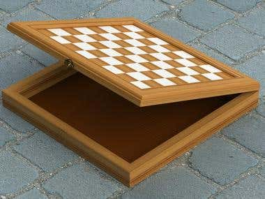 Chess/Checker Board
