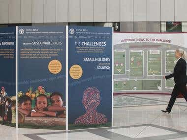 FAO - United Nations exhibition - COAG 2012 - Rome