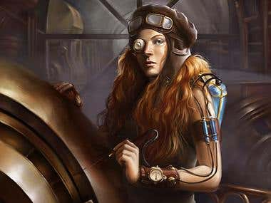steampunk mechanic
