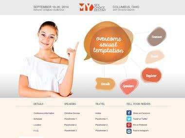 Young Adult Conference Website