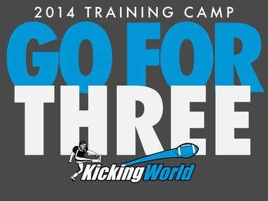 Kicking World Camp 2014 Shirt