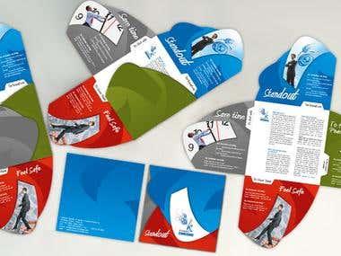 Fold-able flyer