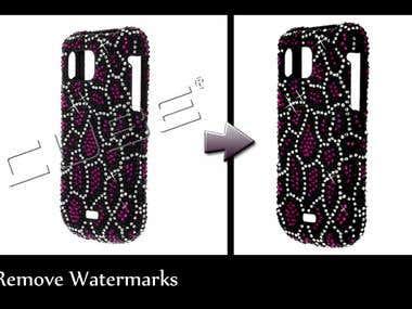 Removing watermarks