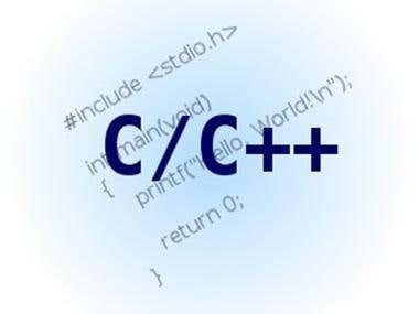 C & C++