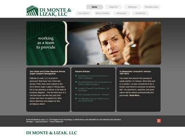 Website for Dimontelaw