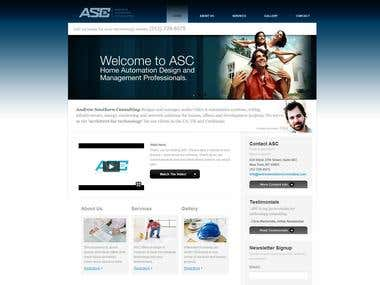 Wordpress website ASC
