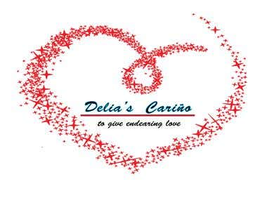 Delia's Celino logo creation