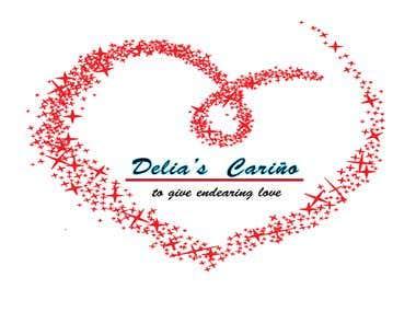 Delia's Celino logo creation