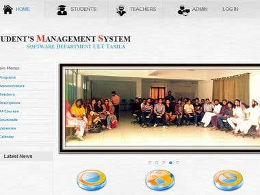 Student Management System (SMS)