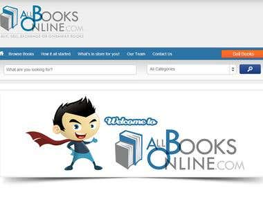 Allbooksonline.com - Online Portal to exchange books
