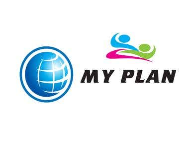 My plan - logo design