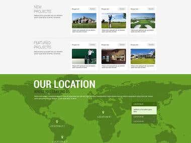 URUBO Golf Web Design (Contest Winner)