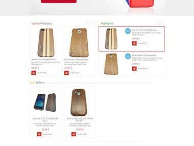 icase4u.de - Ecommerce Website (Germany)