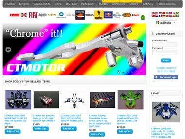 CTMotor online Shop