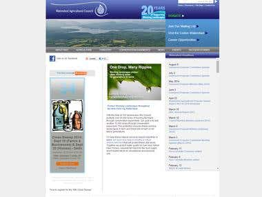 Website for NycWatershed