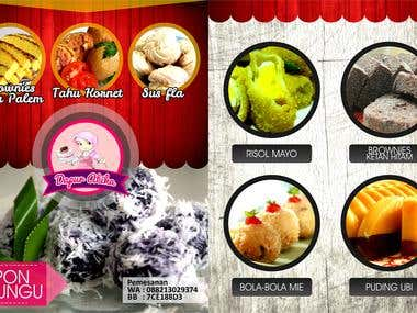 A Traditional Culinary of Indonesia Pamphlet