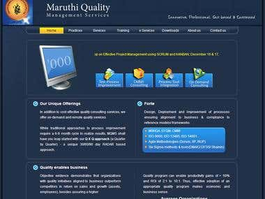 Maruthi Quality web design
