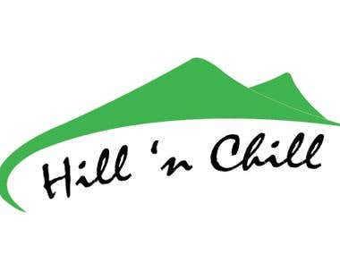 Illustrator - Hill & Chill Logo