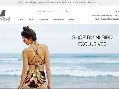 Bikini shop shopify